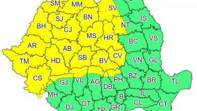 Photo of Cod galben de vânt puternic în 24 de județe din țară