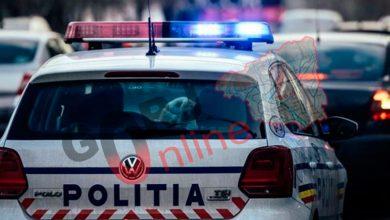 Photo of Șofer sancționat după ce s-a ciocnit cu mașina de Poliție