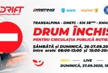 Photo of Etapa finală din Campionatul Național de Drift va avea loc sâmbătă și duminică, în Pasul Urdele de pe Transalpina, FĂRĂ SPECTATORI