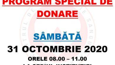 Photo of Program special de donare de sânge la Centrul de Transfuzie Sanguină din Târgu Jiu